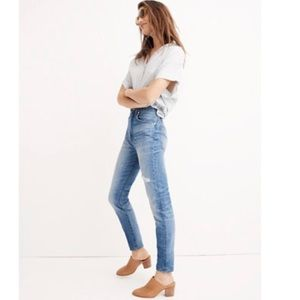 Madewell Rigid High-Rise Skinny Jeans - 28 Tall